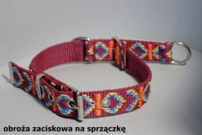 Obroża zaciskowa dla psa na sprzączkę 25mm - HappyHusky Marzena Pałka Kraków
