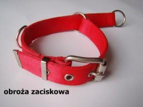 Obroża zaciskowa dla psa 30mm - HappyHusky Marzena Pałka Kraków