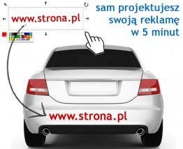 Naklejki na auto - CREITON Daniel Atanasow Ancew Nowy Targ
