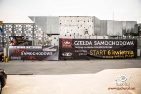Wynajem powierzchni reklamowych - CarTel Giełda Samochodowa Kielce