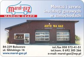Montaż samochodowych instalacji gazowych - Marol-Gaz - Marcin Czapp - Montaż instalacji gazowych, serwis Bolszewo