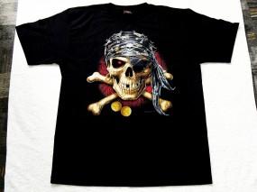 Koszulka z czachą - Bastard Shop Zasań