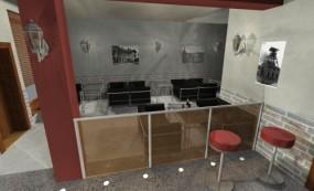 Projektowanie wnętrz biurowych - Inzart projektowanie wnętrz i ogrodów Ruda Śląska