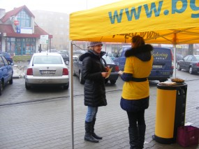 Rozdawanie Hostessa/Promotor - Golden Grupa Agencja Reklamowa Tarnobrzeg