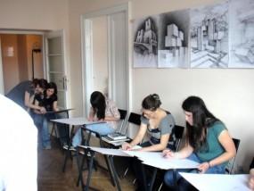Kurs rysunku odręcznego, podstawowy 2-3 lata - Kurs Rysunku - Elipsa - Przygotowanie na Architekturę Kraków