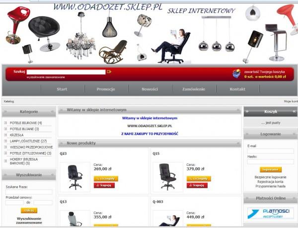 Sklep Internetowy Artdesign Meble Artdesign Wroc Aw Wa Brzych I Legnica