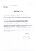 Referencja od firmy Firma Wdrożeniowo-Wykonawcza Eko-Tech