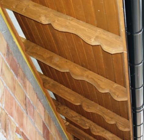 Malowanie podbitki drewnianej knr