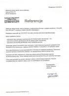 Referencja od firmy Załadunek Usługi Handel Joanna Gałuszka