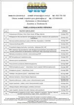 szkolenia - kursy zawodowe - Ośrodek Kształcenia Oświatowego Tomasz Zieliński Sochaczew