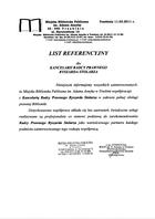 Referencja od firmy Miejska Biblioteka Publiczna