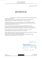 Referencja od firmy Fonon Sp. z o.o.