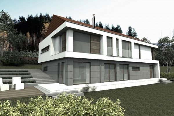 projekty nowoczesnych dom w i rezydencji architekt. Black Bedroom Furniture Sets. Home Design Ideas