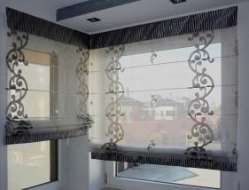 Projektowanie i szycie dekoracji okiennych - ELITEX Kraków
