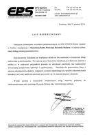 Referencja od firmy EPS SYSTEM Robert Lipnicki