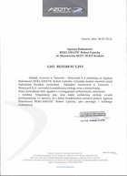Referencja od firmy Azoty Tranów