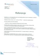 Referencja od firmy Intersell sp. z o o