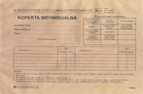 Koperta indywidualna / opak 100 szt [Mz/Og-5] - Firma Krajewski Nadarzyn