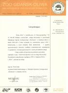 Referencja od firmy ZOO GDAŃSK OLIWA