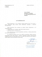 Referencja od firmy Szkoła Podstawowa nr 59