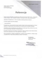 Referencja od firmy Grasse Grażyna Ostropolska