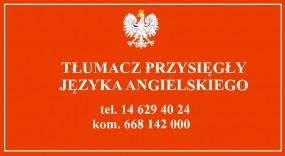Tłumaczenie przysięgłe na język angielski - Biuro Tłumaczeń Lexpertise Tarnów