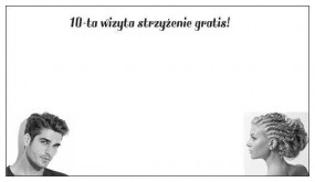 kupon rabatowy - Salon Fryzjerski Damsko - Męski  For You  Zielona Góra