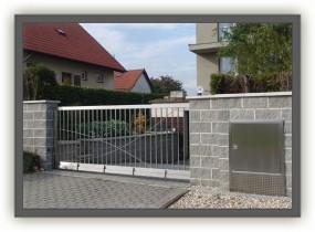Ogrodzenia ze stali nierdzewnej - bramy przesuwne - ZIB Andrzej Parma - stal nierdzewna Racibórz