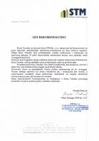 Referencja od firmy STM Sp. z o.o.