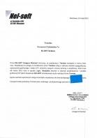 Referencja od firmy Nel-soft