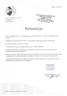 Referencja od firmy Jawal Sp. z O.O.