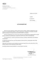 Referencja od firmy RM FILIPOWICZ