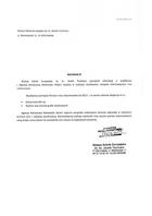 Referencja od firmy Wyższa Szkoła Europejska im.ks. Józefa Tischnera
