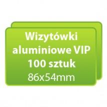 Wizytówki aluminiowe VIP 100 sztuk - Dc Studio Oświęcim
