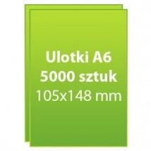 Ulotki A6 5000 sztuk - Dc Studio Oświęcim