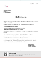 Referencja od firmy SOS Annna Dylewska