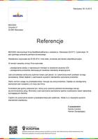 Referencja od firmy MEDGEN