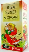 Herbatka dla dzieci na odporność - Sklep zielarsko-medyczny ,,Ziołowy ogród  Grażyna Zielińska Łódź