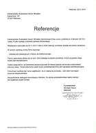 Referencja od firmy Kamieniarstwo Budowlane Mirosław Kaczor