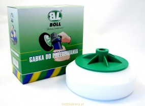 Dysk polerski gąbkowy BOLL gwint 14mm biały - Kolor s.c. Mieszalnia lakierów Standox Bydgoszcz