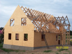 Domy z drewna w elementach - FPHU  TAR-DREW  s.c. Trąbin-Rumunki
