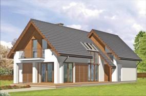 Projekty domów, domków - Architektoniczna pracownia projektowa INWESTPROJEKT Gliwice