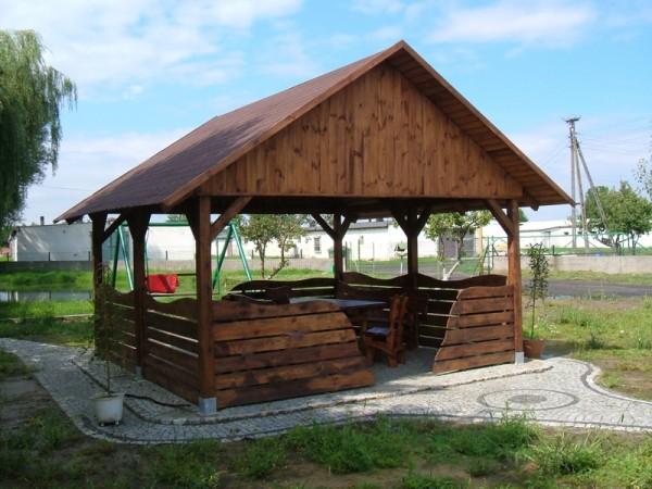 Meble ogrodowe – architektura drewniana Gorzów Wielkopolski Zielona