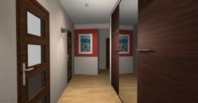 Projekty wnętrz korytarzy, przedpokoi, holi - MP Studio Design Projektowanie wnętrz Chotomów