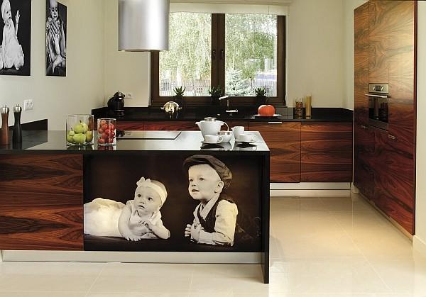 Meble kuchenne na wymiar Front – Meble kuchenne Front   -> Kuchnia Z Forniru Egzotycznego