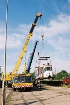 63 tony - wynajem żurawia samochodowego Mostostal DST 0632T - Koles - żurawie samochodowe, transport niskopodwoziowy Gorzów Wielkopolski