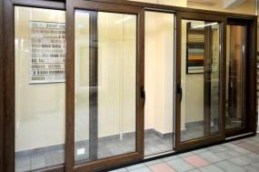 HS - drzwi unoszono przesuwne - OKNA NA ŚWIAT - Salon okien, drzwi, rolet Poznań