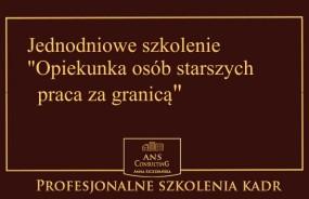 Opiekunka osób starszych -praca za granicą - ANS CONSULTING, Nieruchomości, szkolenia, doradztwo Opole