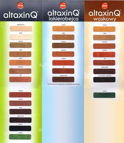 Impregnat do drewna altax kolory