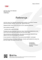 Referencja od firmy JDG FPHU Dariusz Piotr Gołębiowski